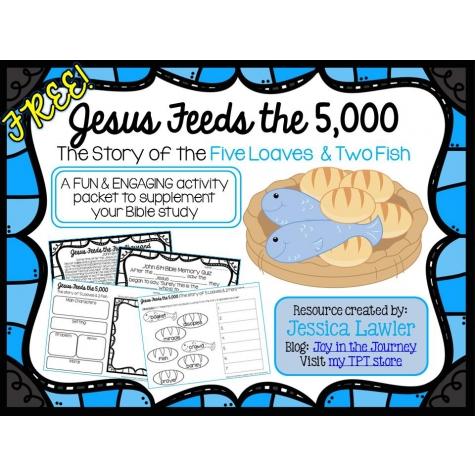 FREE Jesus Feeds Unit Study