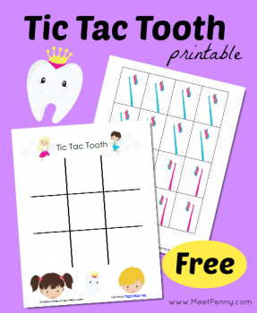 FREE Tooth Care Printables