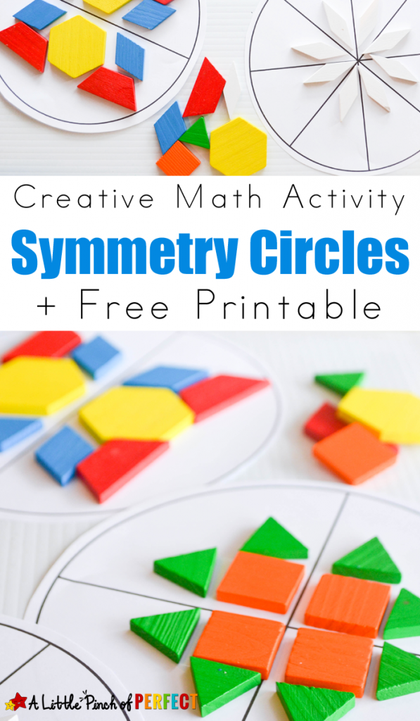 FREE Symmetry Printables and Activity