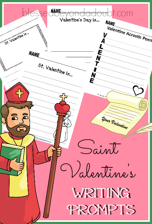 FREE Valentines Writing Pack