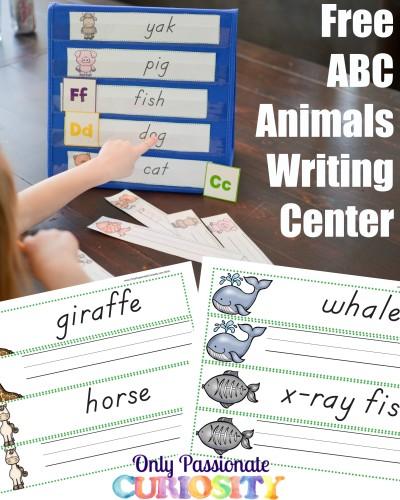 FREE ABC Animals pack