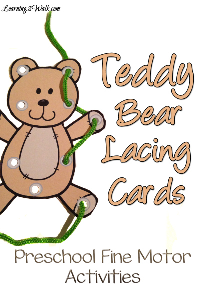 photo regarding Printable Lacing Cards identified as No cost Teddy Endure Lacing Playing cards