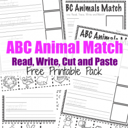 FREE ABC Animals Pack