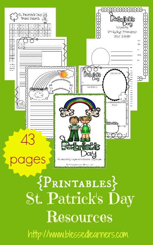 FREE St. Patrick's Day 43 Page Pack