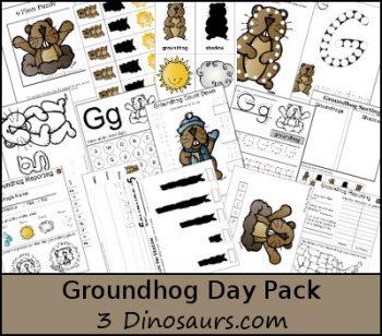 FREE Groundhog Day Pack