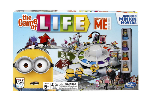 The Game of Life Despicable Me Edition Only $7.99! (Reg. $22!)