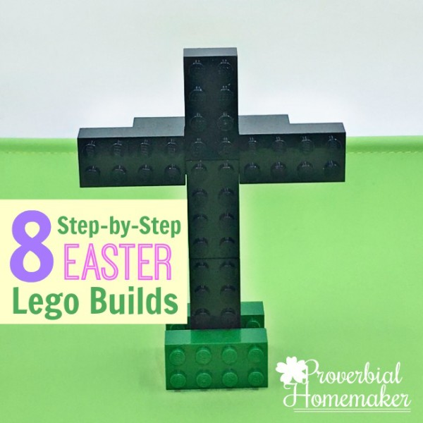 8 Easter Lego Builds W/ Free Printable