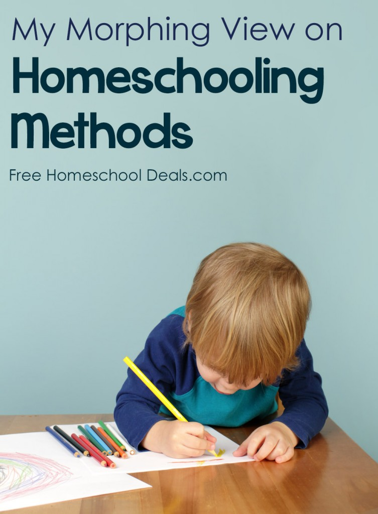 My Morphing Views on Homescholing Methods