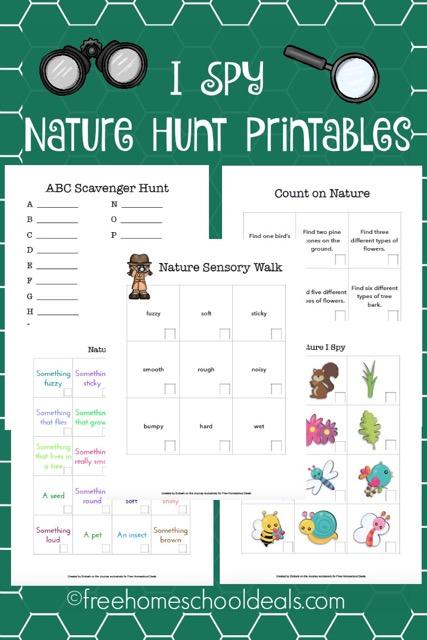 I Spy Nature Hunt