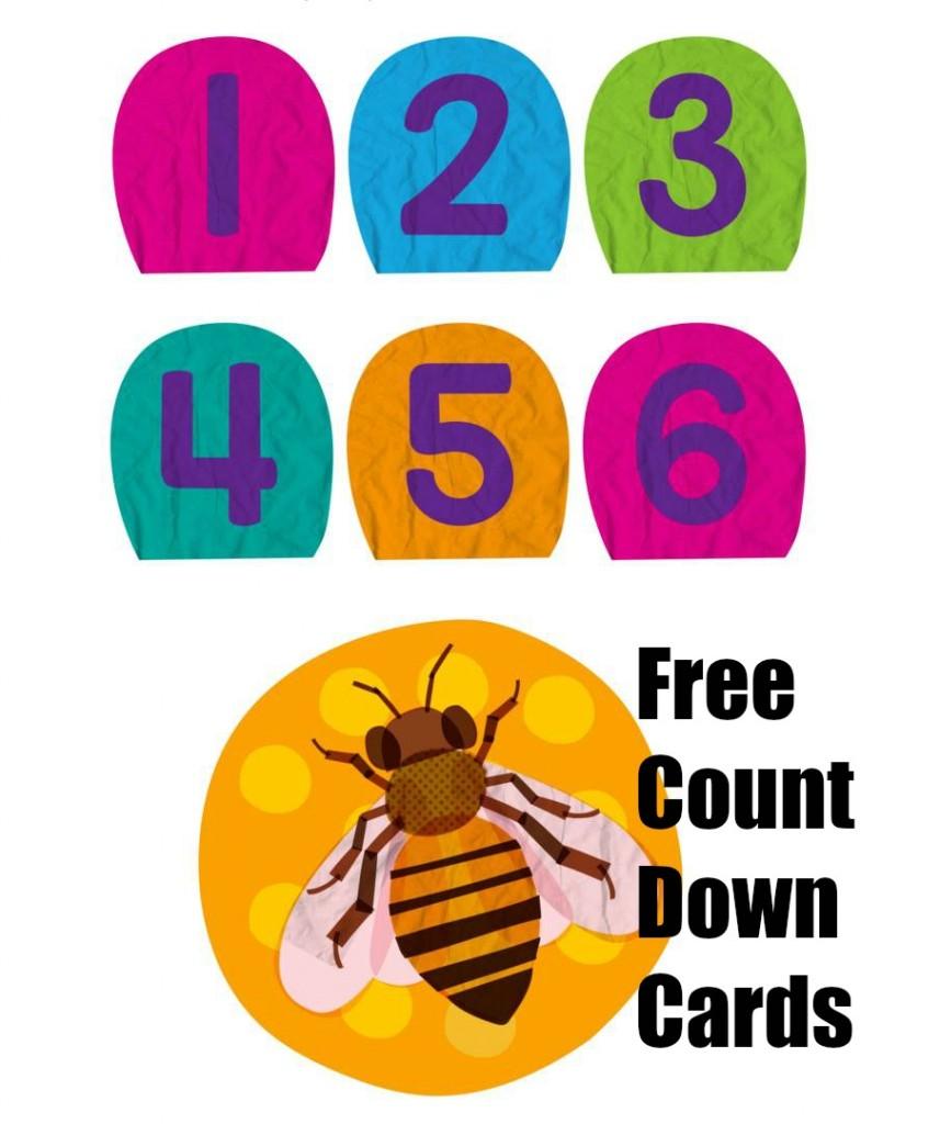 FREE Preschool Change Cards