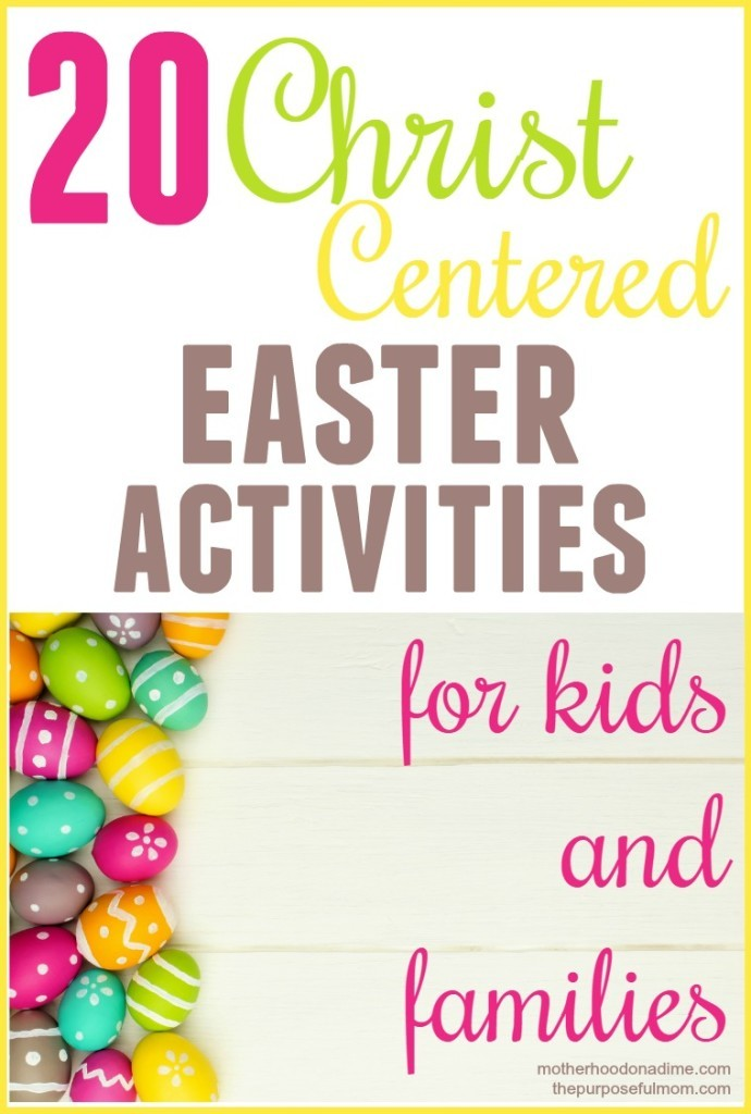 20 FREE Christ-Centered Easter Activities