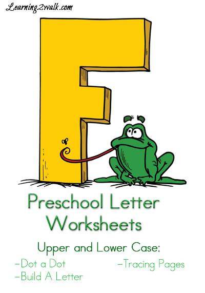 FREE Letter F Worksheet Pack