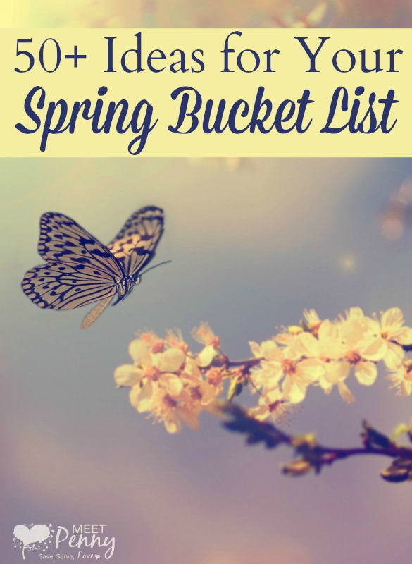 FREE Spring Bucket List