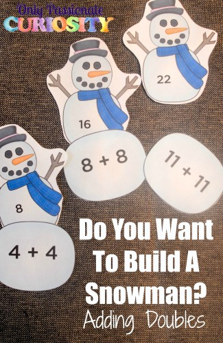 FREE Snowman Math Printables
