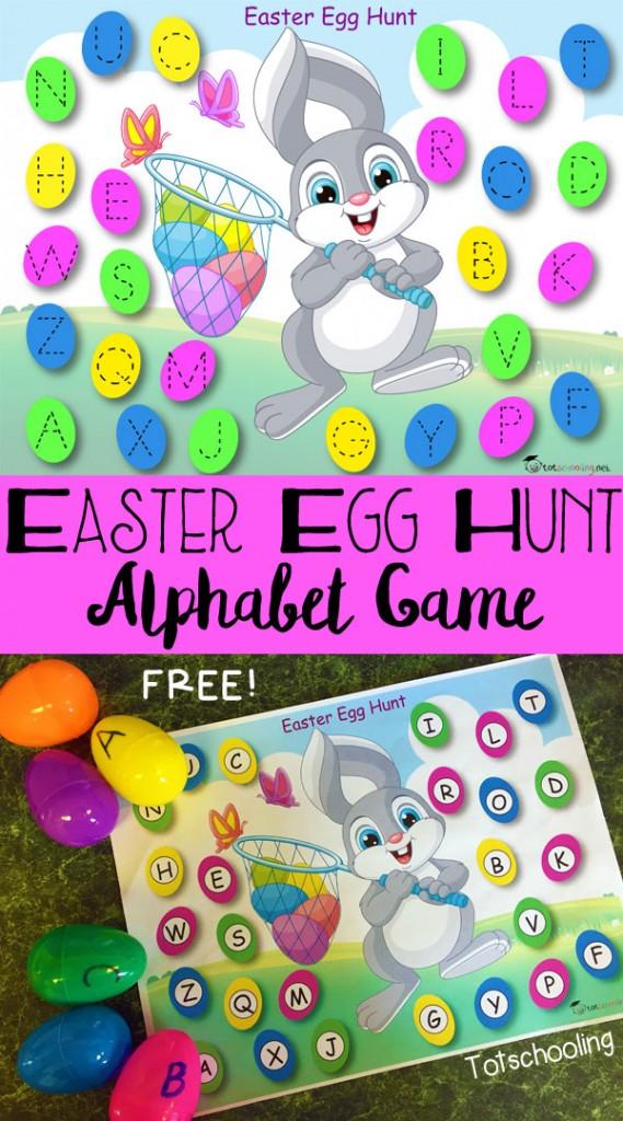 FREE Easter Egg Hunt Game