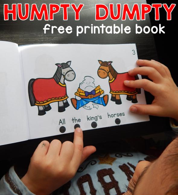 FREE Humpty Dumpty Booklet