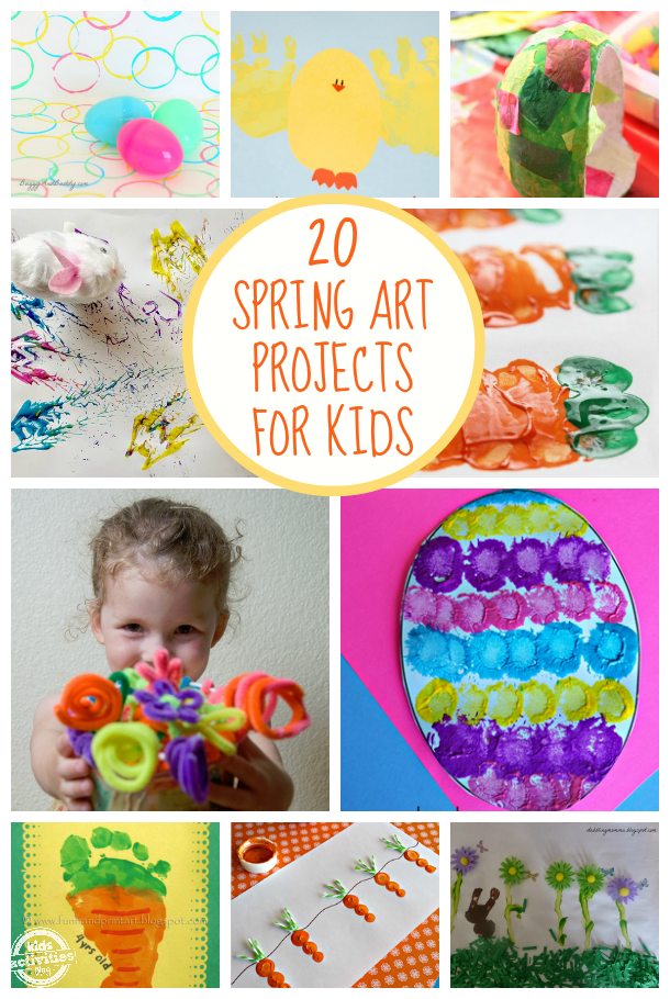 20 FREE Spring Art Projects