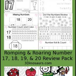 FREE Numbers Packs