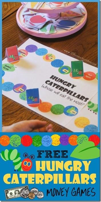 Free Hungry Caterpillar Money Games
