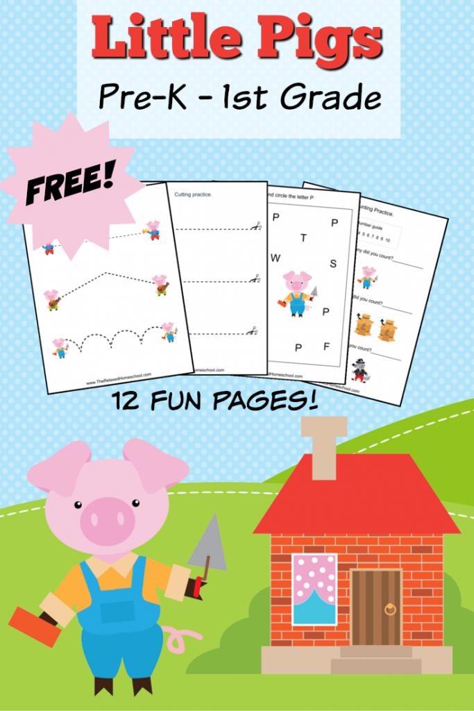 FREE Three Little Pigs Pack