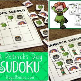 FREE St. Partick's Day Sudoku