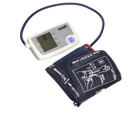 Coosh Intelligent Upper Arm Digital Blood Pressure Monitor Only $17.95! (Reg. $60!)