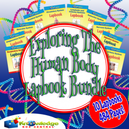 Exploring the Human Body Lapbook Bundle Only $7.50! (484 Pages!)