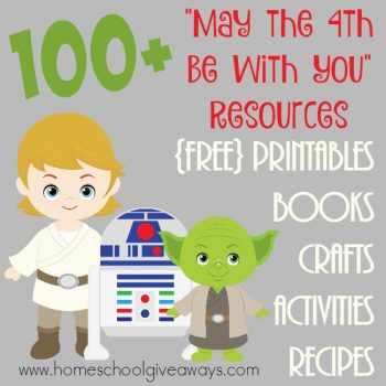 "FREE 100+ ""May the 4th be with You"" Resources"