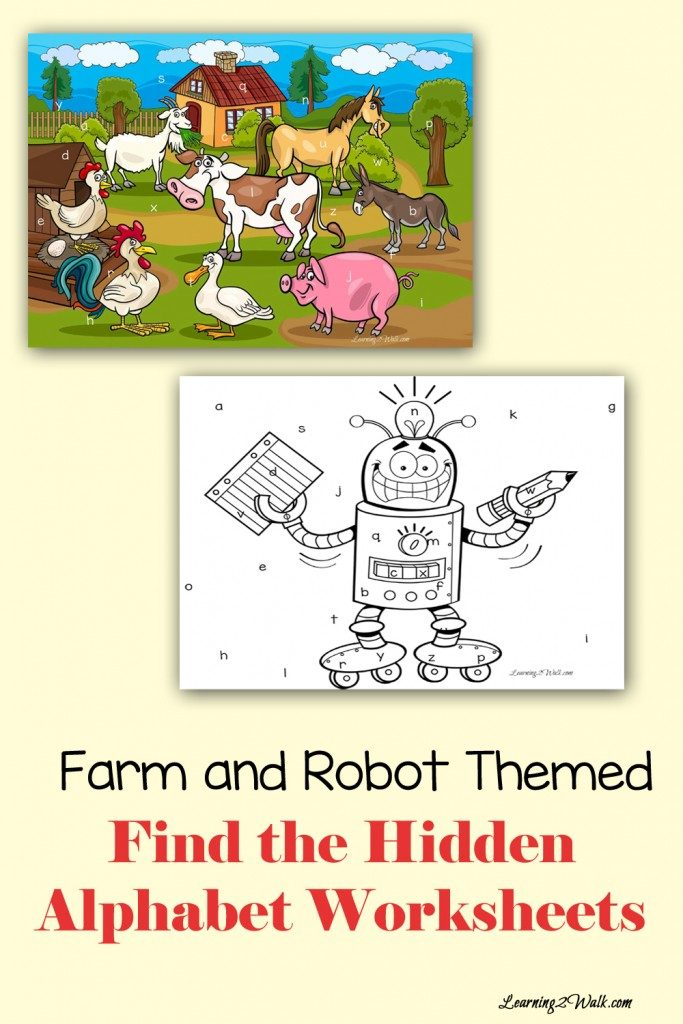 FREE Farm and Robot Themed pack