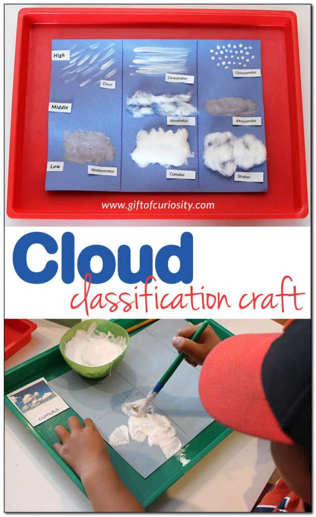 FREE Cloud Classification Craft