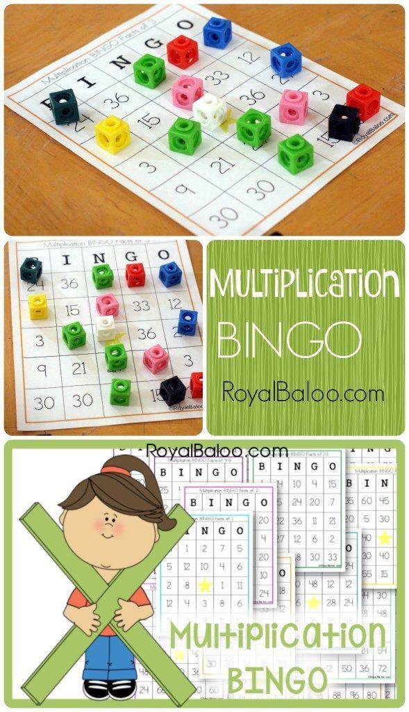 FREE Multiplication Bingo