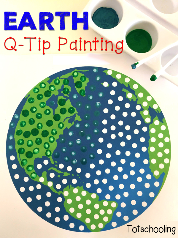 FREE QTip Painting Printables