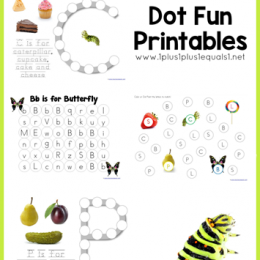 FREE Very Hungry Caterpillar Printables