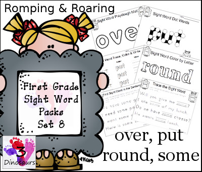 FREE First Grade Sight Word Packs