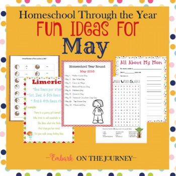 FREE May Printables and Activities Pack