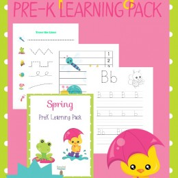 FREE Spring Learning Pack