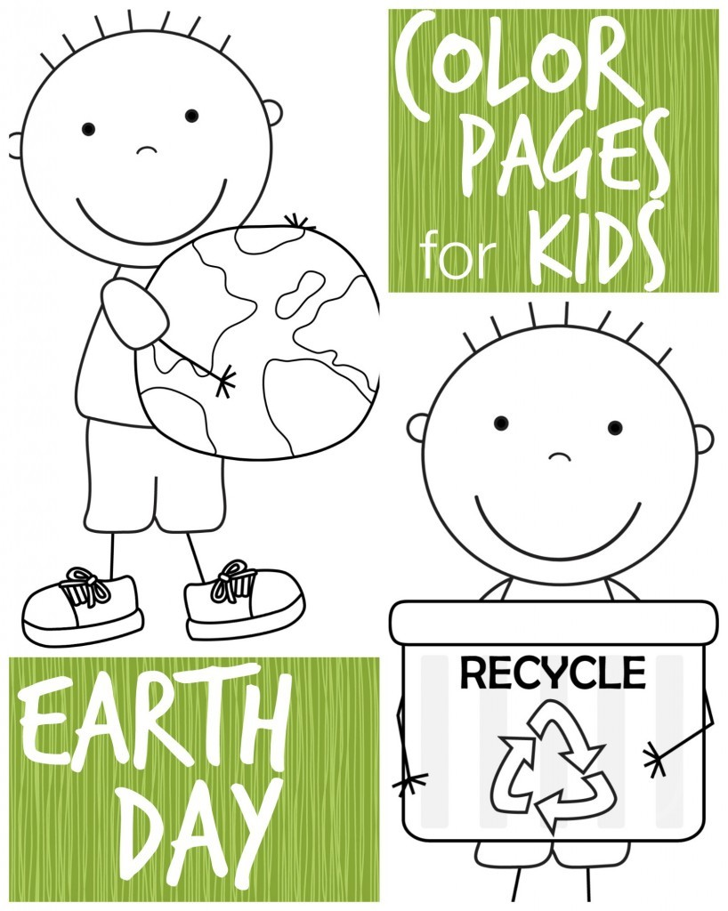 FREE Earth Day pages for Kids
