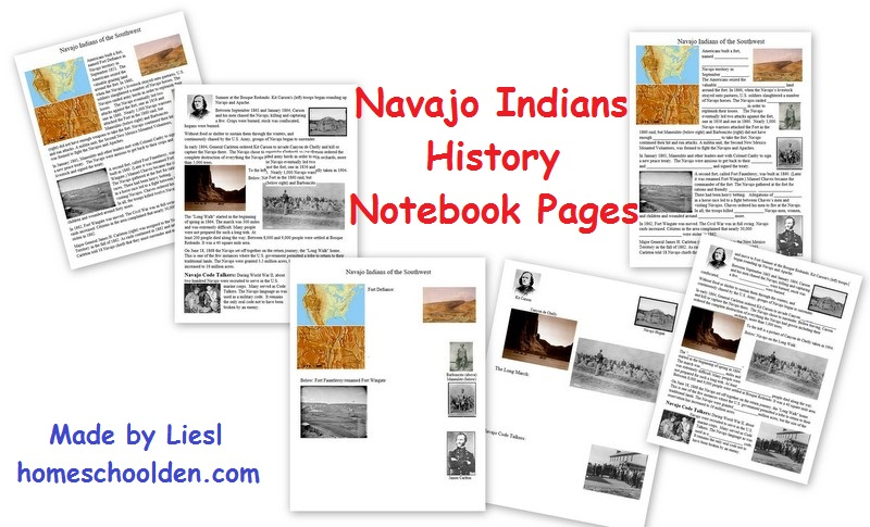 FREE HIstory Notebooking Pages