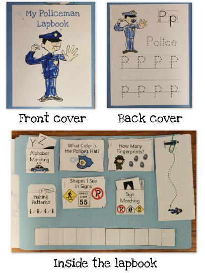 FREE Policeman Lapbook