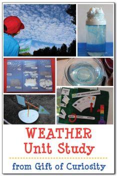 FREE Weather Unit Study