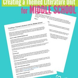 FREE Middle School Literature Pack