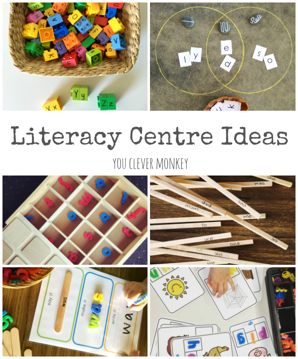 FREE Literacy Center Ideas