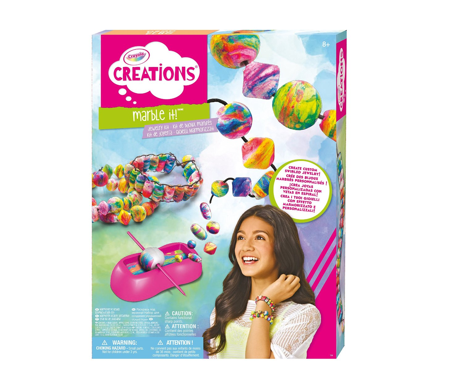 Crayola Marbling It! Jewelry Kit Only $12!