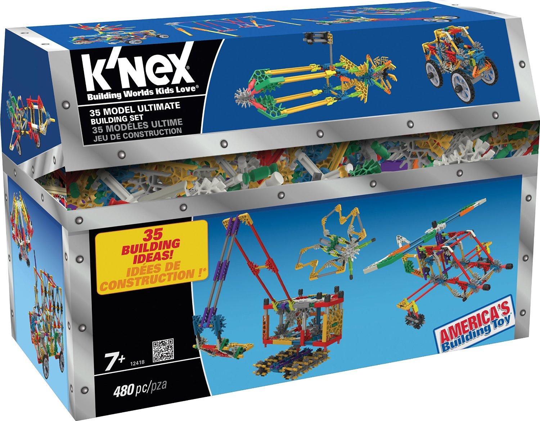 K'nex 35 Model Ultimate Building Set Only $22.19!