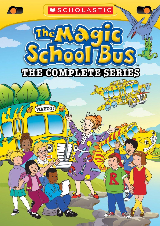 Complete Magic School Bus DVD Series