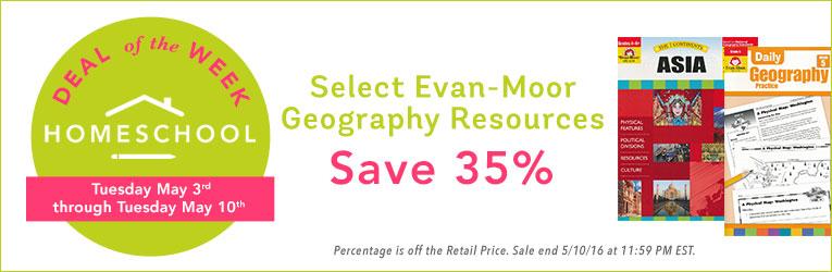 35% Off Evan-Moor Geography Resources