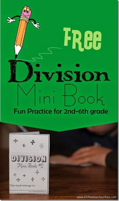 Free Division Mini Book