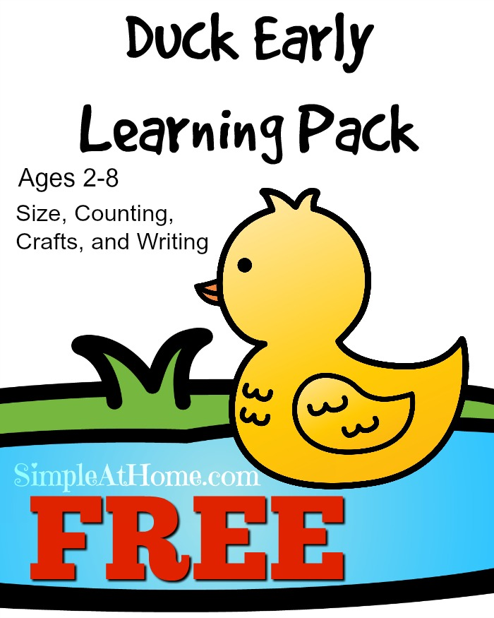 FREE Duck Learning pack