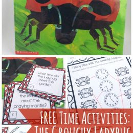 FREE Grouchy Ladybug Math Pack