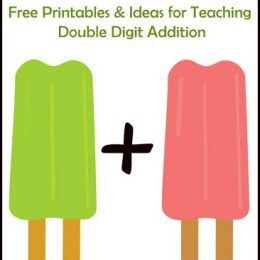 FREE Printables and Ideas for Teaching Double Digit Addition
